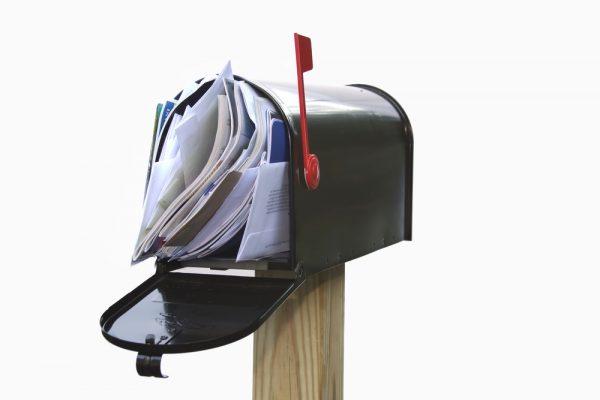 Plná schránka pošty