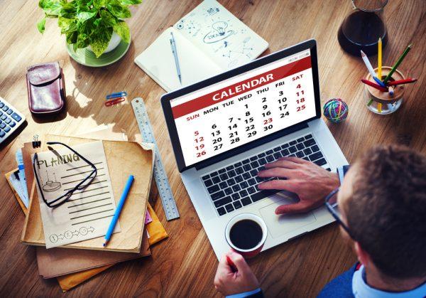 Plánování činností v kalendáři